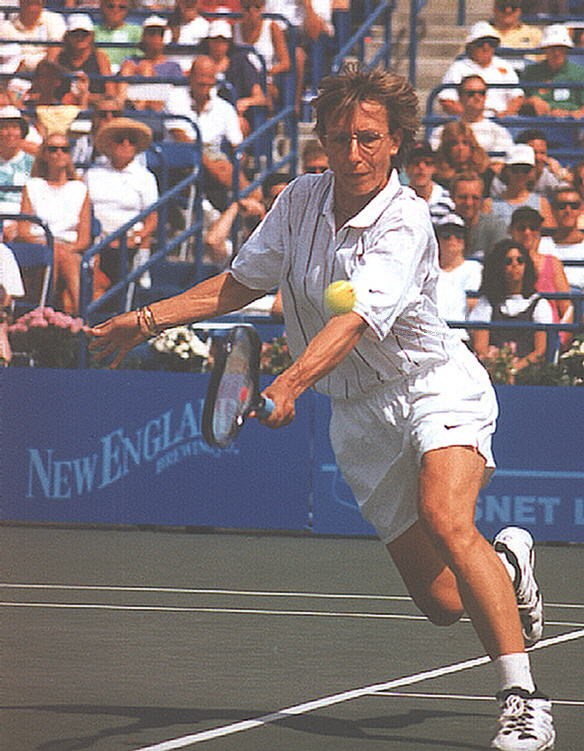 Tennis - Martina Navratilova