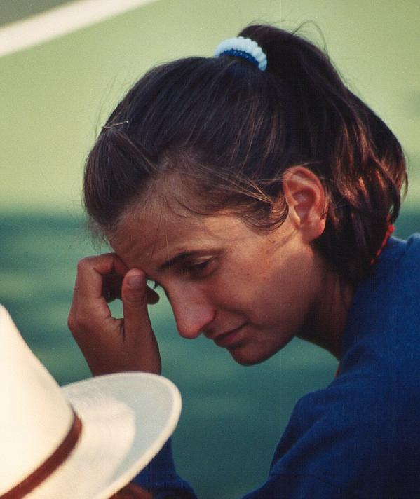 Tennis - Alexandra Fusai