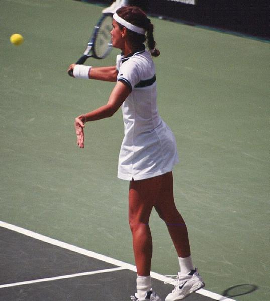 Tennis - Mary Joe Fernandez