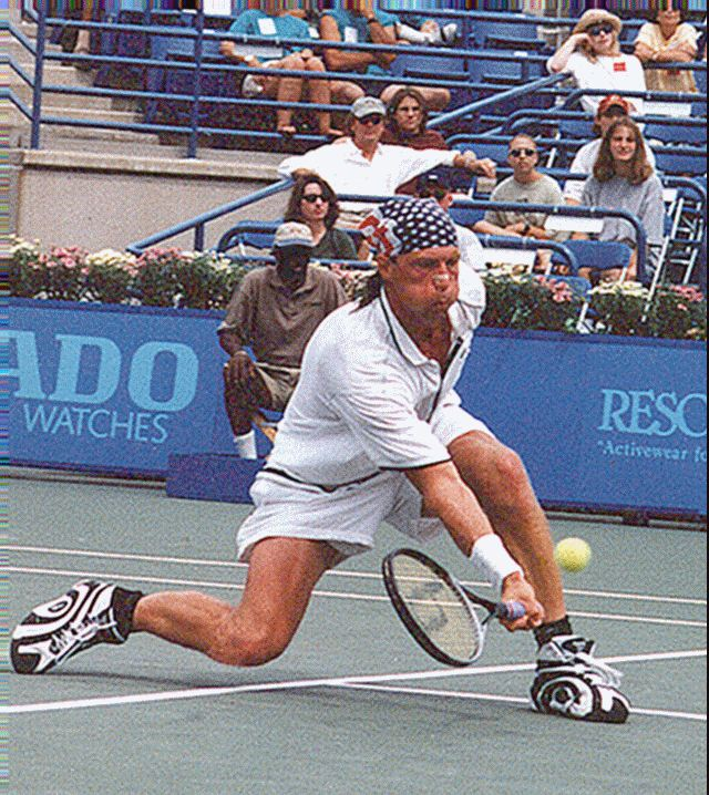 Tennis - Luke Jensen