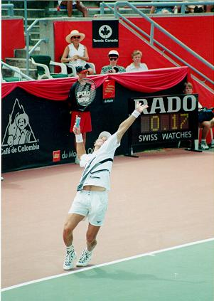 Tennis - Patrick Rafter