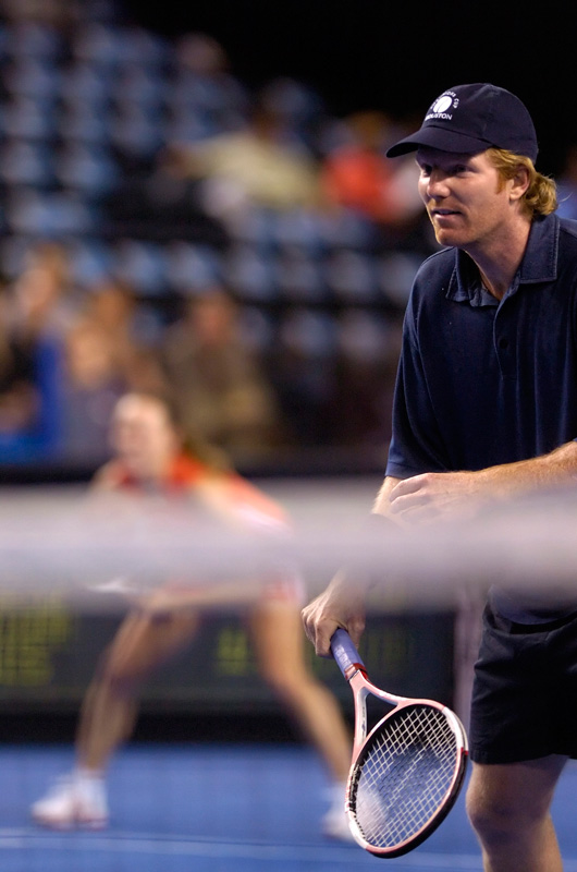 Tennis - Jim Courier - Martina Hingis