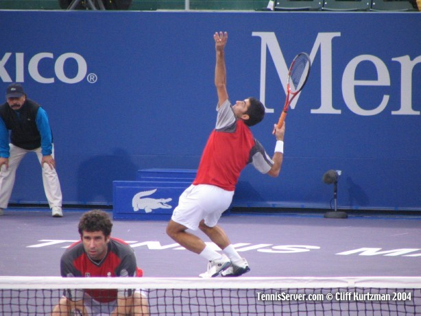 Tennis - Gaston Eltis (left) and Martin Rodriguez