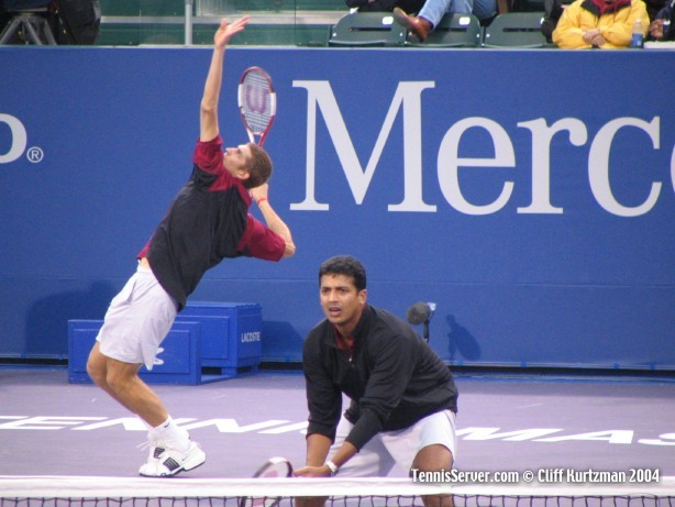 Tennis - Max Mirnyi (left) and Mahesh Bhupathi