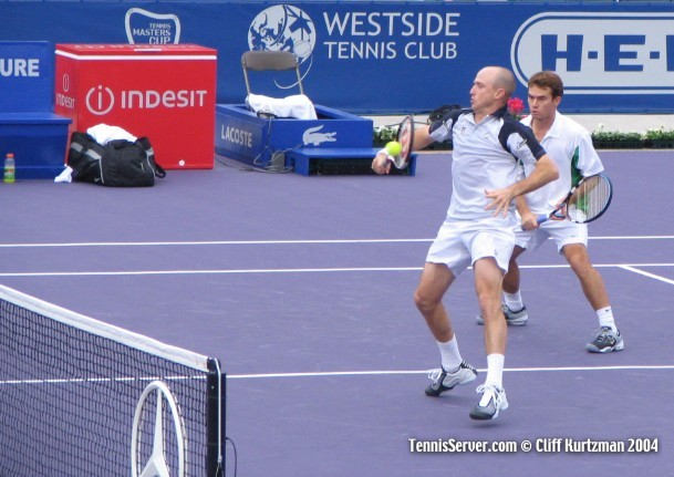 Tennis - Kevin Ullyett (left) and Wayne Black