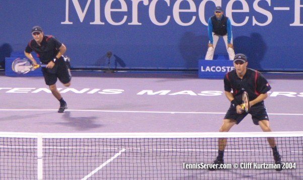 Tennis - Bryan Brothers - Mike Bryan and Bob Bryan
