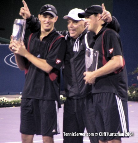 Tennis - Bryan Brothers - Mike Bryan and Bob Bryan - Wayne Bryan