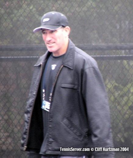 Tennis - Andy Roddick's coach Brad Gilbert