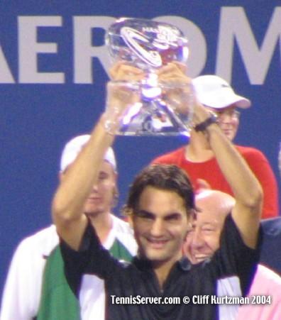 Tennis - Roger Federer - 2004 Masters Cup Trophy