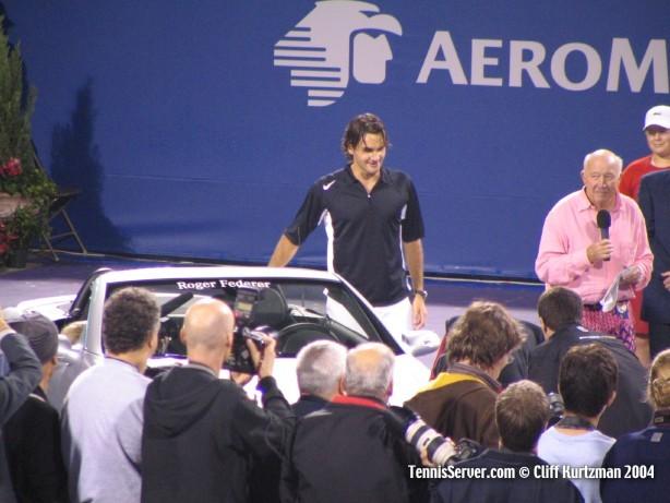 Tennis - Roger Federer - Bud Collins