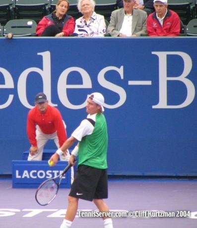 Tennis - Lleyton Hewitt - Linda McIngvale - Barbara Bush - George Bush - Jim McIngvale