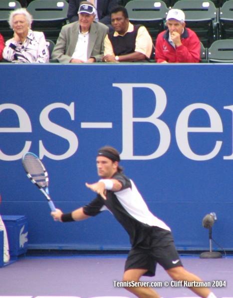 Tennis - Carlos Moya - Barbara Bush - George Bush - Jim McIngvale