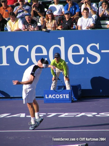 Tennis - Andy Roddick - Jimmy Connors - Jim McIngvale