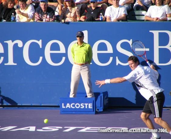 Tennis - Marat Safin - Guillermo Vilas - Jimmy Connors - Jim McIngvale