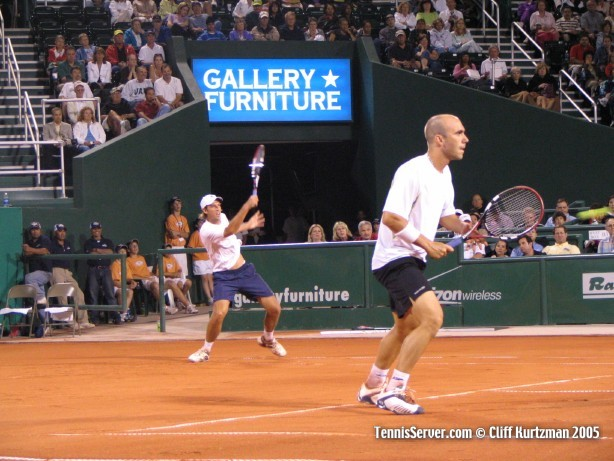 Tennis - Martin Garcia - Luis Horna