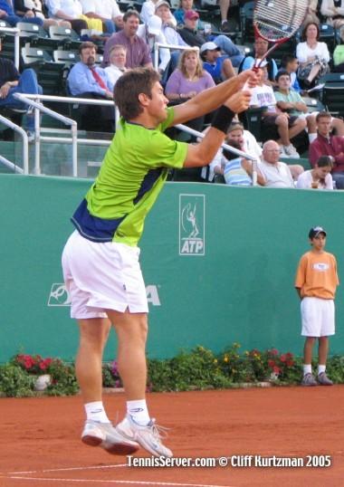 Tennis - Michal Tabara