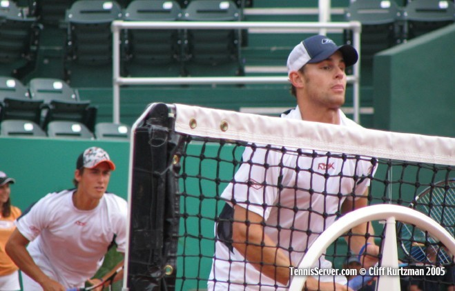 Tennis - Andy Roddick - Tres Davis