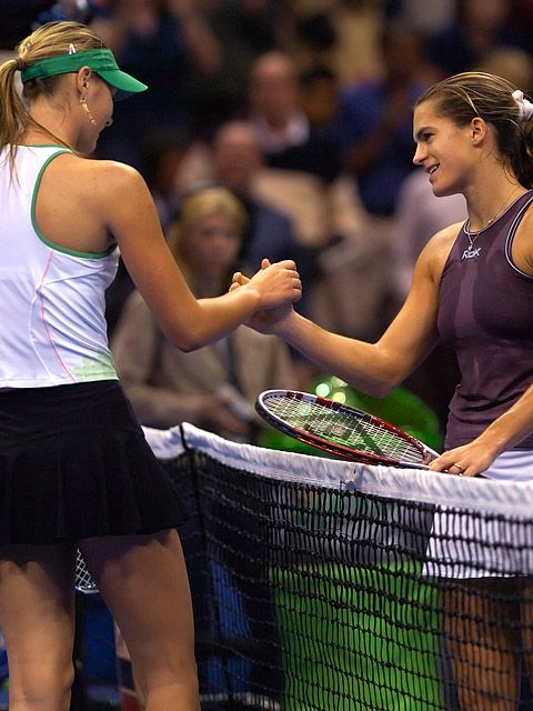 Tennis - Maria Sharapova - Amelie Mauresmo