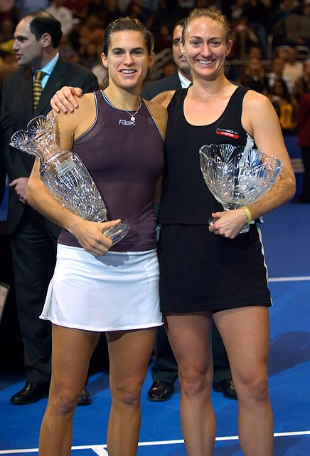 Tennis - Mary Pierce - Amelie Mauresmo