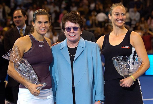 Tennis - Mary Pierce - Amelie Mauresmo - Billie Jean King