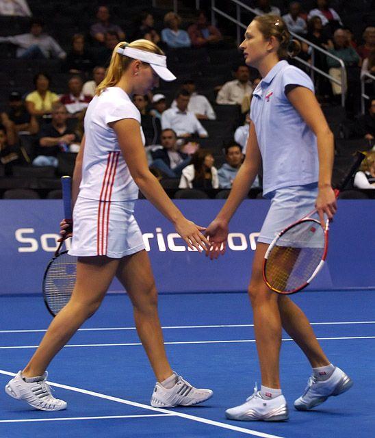 Tennis - Elena Likhovtseva - Vera Zvonareva