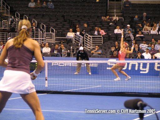 Tennis - Amelie Mauresmo - Elena Dementieva