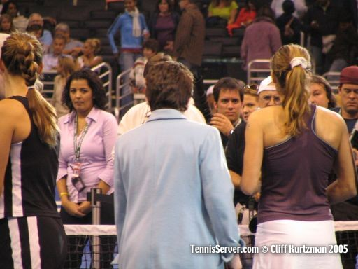 Tennis - Mary Pierce - Amelie Mauresmo - Billie Jean King - Pablo Sanfrancisco