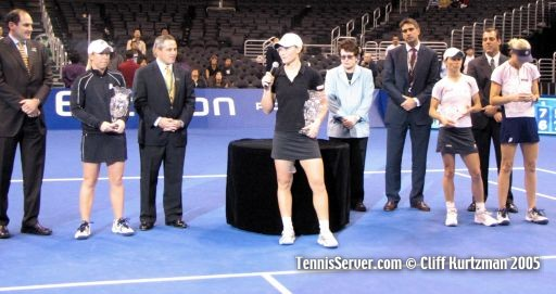 Tennis - Lisa Raymond - Samantha Stosur - Cara Black - Rennae Stubbs - Billie Jean King