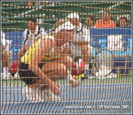 Tennis - Ansley Cargill