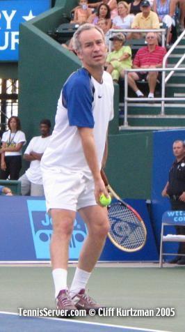 Tennis - John McEnroe