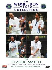 Wimbledon 2000 Semi-Final - Agassi vs. Rafter DVD