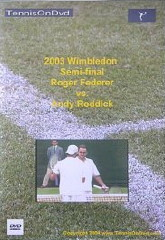 Wimbledon 2003 Semi-Final: Federer vs. Roddick DVD