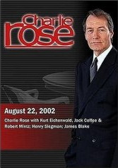 Charlie Rose with Kurt Eichenwald, Jack Coffee and Robert Mintz; Henry Siegman; James Blake