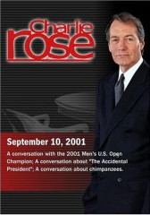 Charlie Rose with Lleyton Hewitt; David Kaplan; Jane Goodall (September 10, 2001) DVD