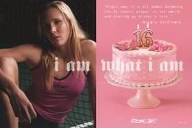 Nicole Vaidisova (Reebok I Am What I Am) Art Poster Print (Unframed) - 24 X 36