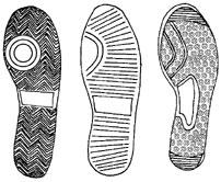 Tennis Shoe Tread Patterns