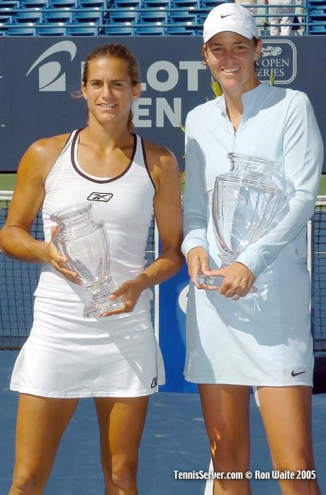 Tennis - Amelie Mauresmo - Lindsay Davenport