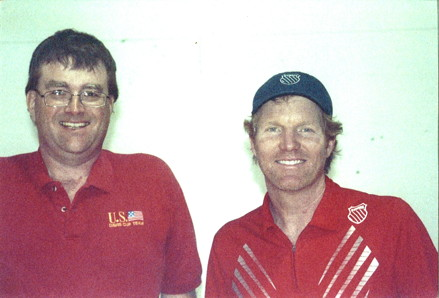 Vince Barr & Jim Courier Photo